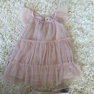 Baby gap girl sparkle twirl tutu dress 12-18